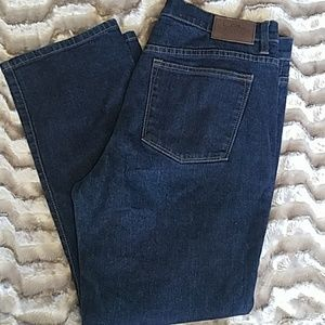 LRL Lauren Jeans Co. dark wash jeans 14 short
